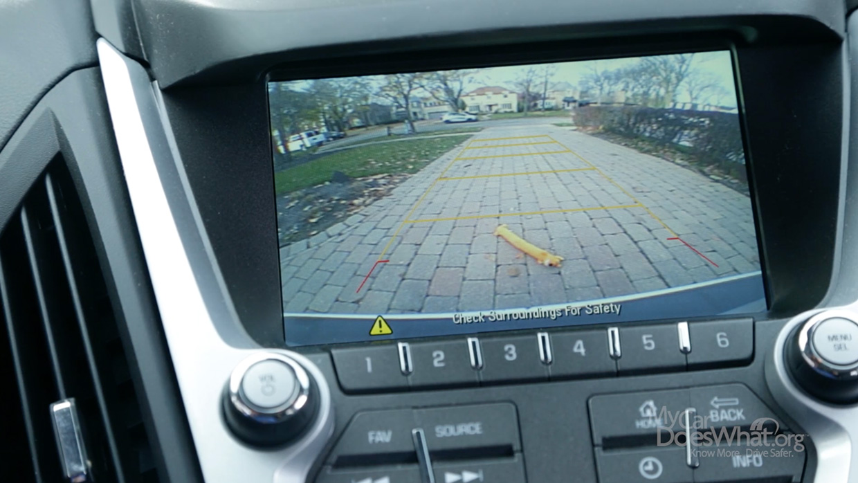 Vehicle Backup Camera: My Car Does What