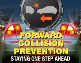 Forward Collision Warning Infographic