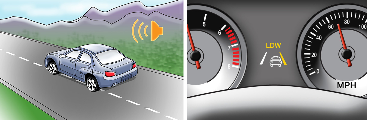 What Is Lane Departure Warning >> Lane Departure Warning My Car Does What